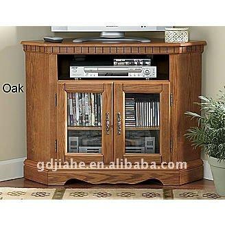 Lexington OAK Corner TV Cabinet Buffet Corner Media Cabinet
