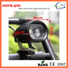 Wholesale 20w 4D led motorcycle head light, led fog light for motorcycle/electric bike/bicycle/off road