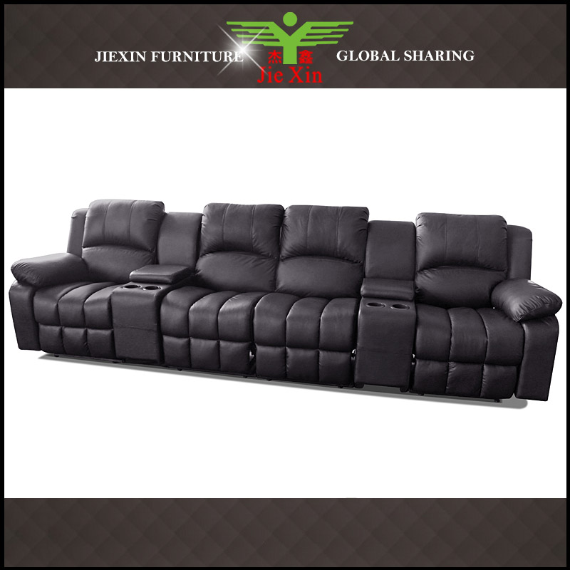 Home cinema leather sofas sofa menzilperdenet for Corner home theater furniture