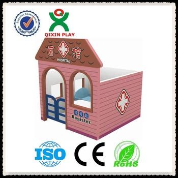 RUMAH SAKIT kayu anak rumah boneka mainan mini anak game house QX-B6807 d125a2477a