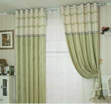 modern printing balcony curtains custom blackout cloth curtain Fabric window drapery blackout Curtain100% polyester