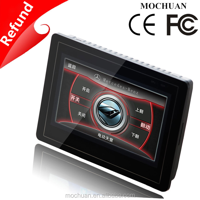 USB industrial 800x480 resistive 7 inch lcd hmi touch screen
