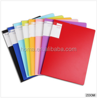 A4 20 40 60 pockets clear plastic display book for sale