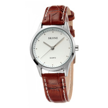 2017 hot selling SKONE 9131 vintage leather watch