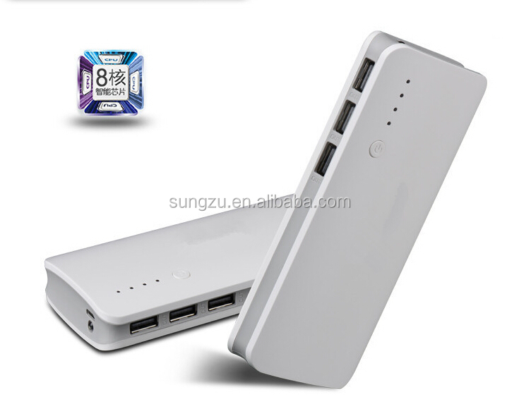 portable powerbank, high capacity battery power bank,universal 3 USB power bank factory manufacturer