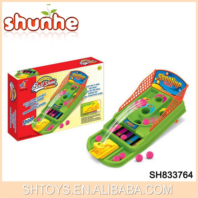 Funny Children's Mini Plastic Table Basketball Game