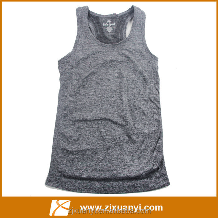 New fashion work out wear seamless wholesale mens casual vest, sport camisole