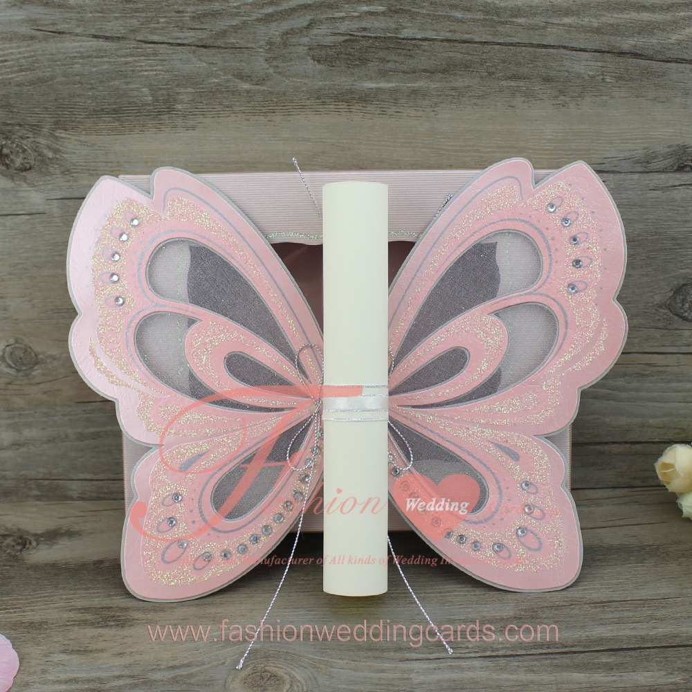 2018 Fashional Luxury Make Butterfly Shape Wedding Invitationscards - Buy  Butterfly Shape Wedding Invitations Cards,Luxury Butterfly Wedding  Invitation Cards,Make Butterfly Wedding Invitations Cards Product on Alibaba .com