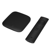 Versão Global MI CAIXA H.265 Android 6.0 TV Set-top Box Suporte HDR <span class=keywords><strong>Vídeo</strong></span> VP9 DTS DolbyVoice Controle Remoto