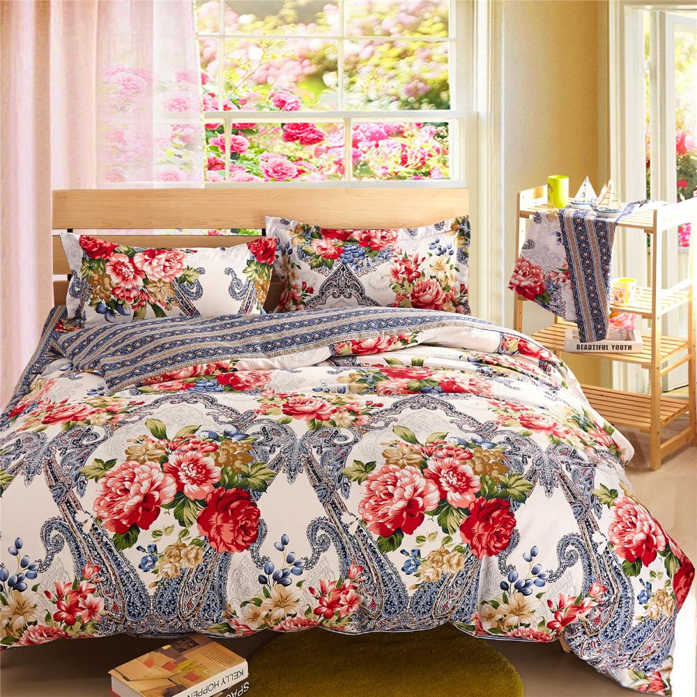 Silver Bedding Sets Floral Comforter Sets Cheap Bed Linen