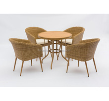 outdoor furniture Bistro chair & table Set HS30356C&HS 20108DT