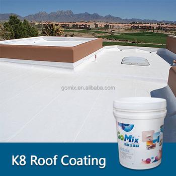 K8-2 White Elastomeric Roof Coating - Buy White Elastomeric Roof  Coating,Polymer Roof Coatings,Acrylic Roof Coating Product on Alibaba com