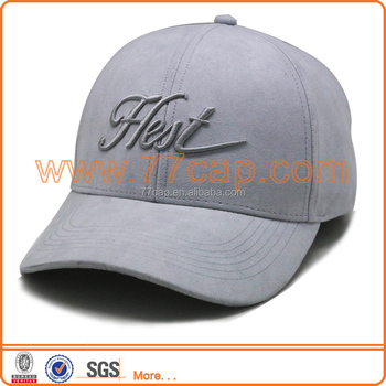 8511bf97d09 Low Profile Faux Fitted Suede Leather Golf Hats Baseball Caps - Buy ...