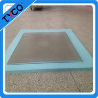 6'x 6' Shower Pan Liner easy installing baseboard