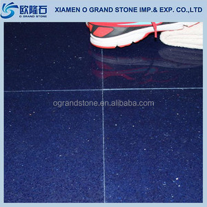High Quality Artificial Sparkle Blue Quartz, Quartz Stone for Flooring