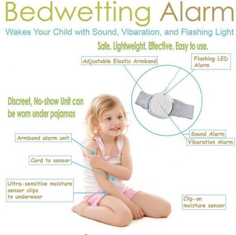 a00c7a1f25 Get Quotations · Bed Alarm For Bedwetting Training Children and Kids to  Stop Night Time Moisture Easy Solutions Control