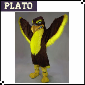 New design customized used mascot costumes for sale, eagle mascot costume