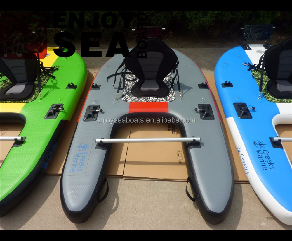 Inflatable paddle board kayak fishing and mini speed boats for Inflatable fishing sup