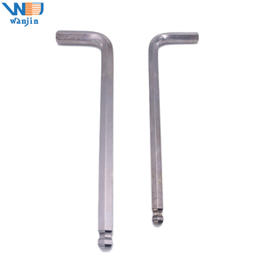 Ball Head Long Arm Hex key wrench allen key , L handle hex wrench