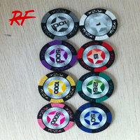 13.5 g Clay Poker Chip/cheap custom poker chips