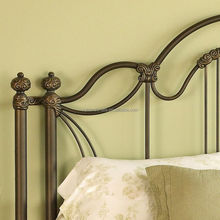 Bottom price newly wrought iron bed for school