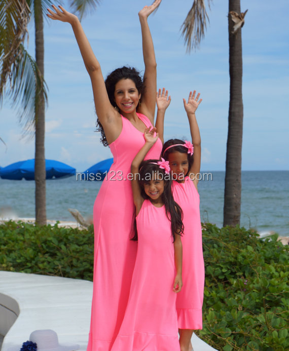 Mommy and me maxi dress cheap matching dress design kids wholesale casual  maxi dress efcbb4dca