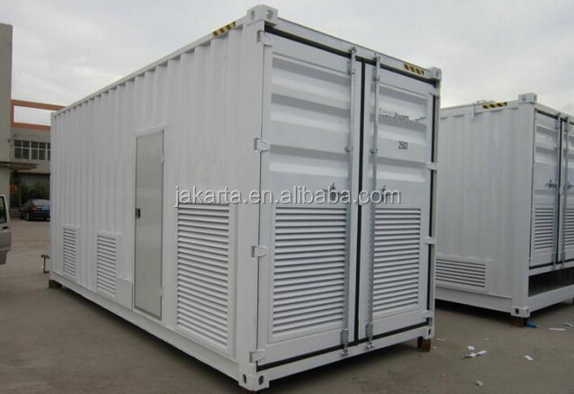 Used in Malaysia CIMT marine 15' half height tank open top container