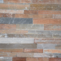 High Quality Exterior Wall Panel Natural Culture Stone Ledger Stone