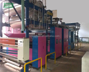 knitted fabric singeing machine