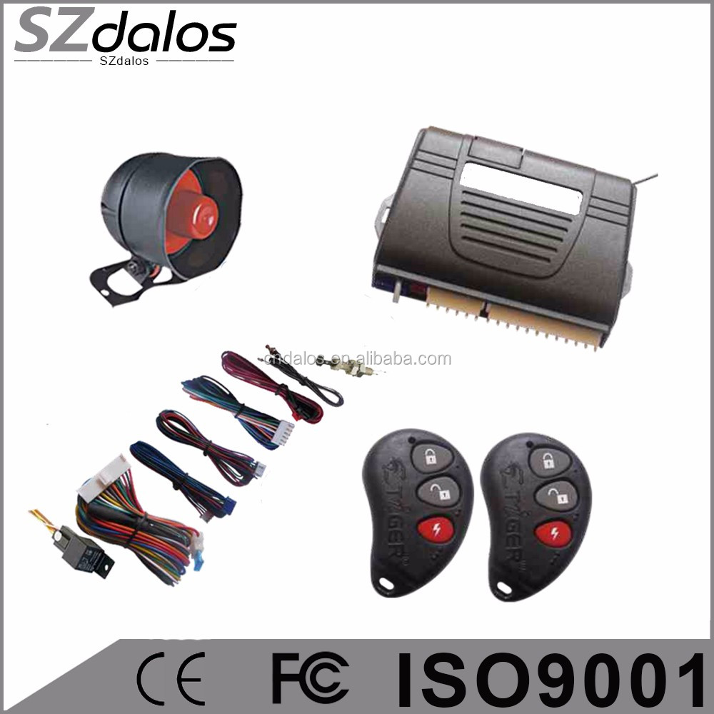 Anti-jacking car alarm system for Russia market in Canton fair top 10 car alarm system