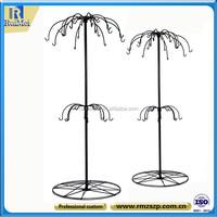 Hang Rotating Floor Standing Metal Wind Bell Display Stand