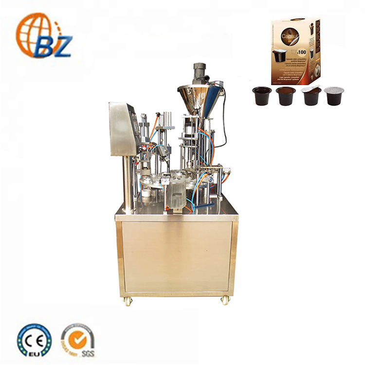 Semi-automatic Espresso Coffee Capsule Filling Machine