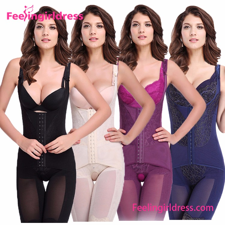 24232c8b2ee74 Best Selling Slimming White 6 Steel Boned Nude Zipper Women Busty Body  Shaper