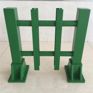 fiberglass free standing fence post bracket