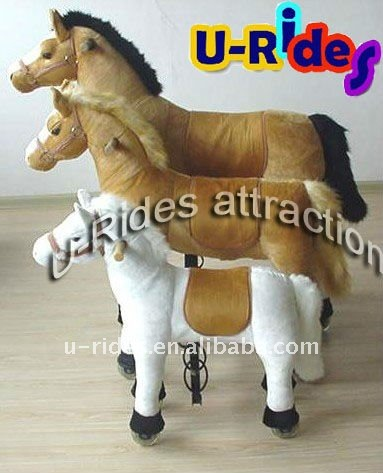 Mechanical walking horse rides kids toys