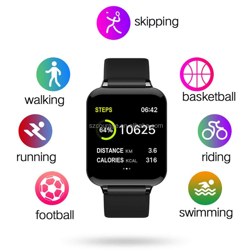 wholesale smartwatch heart rate Fitness Activity Tracker Sleep Monitoring Waterproof smart watch