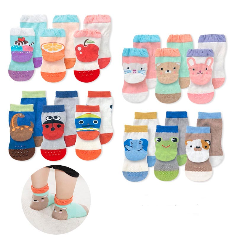 Wholesale Spring & Autumn children cute animal socks warm cotton socks for 1-5 years baby