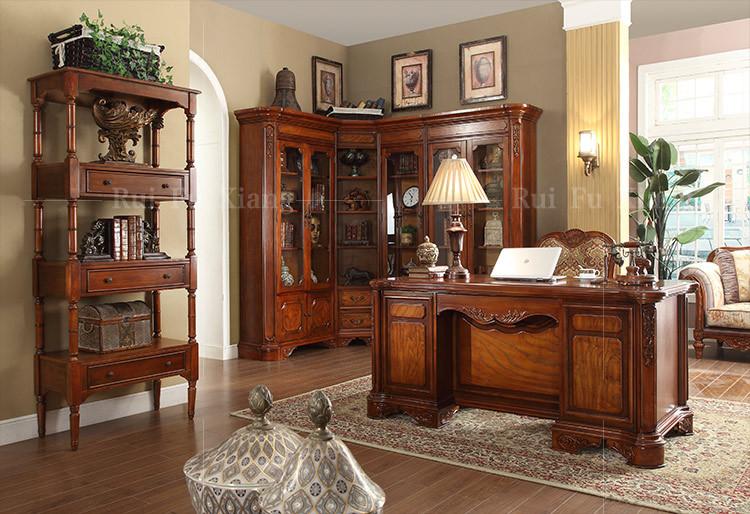 Landelijke stijl computer tafel bureau voor kantoor of thuis