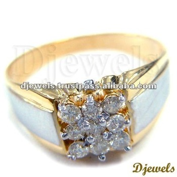 Gents Diamond Rings Diamond Gold Wedding Rings Diamond Jewelry