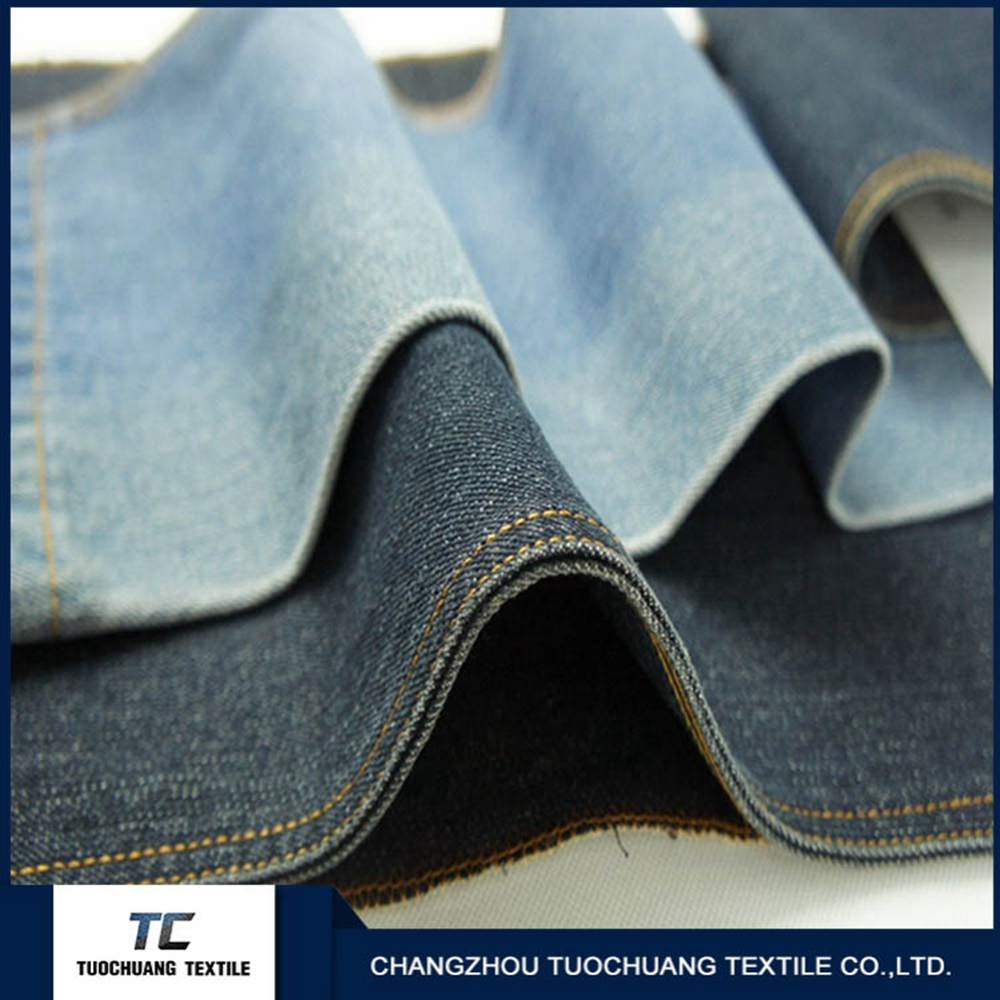 Cheap jeans cotton fabric covered for home use