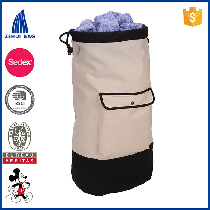 Backpack Duffel Laundry Bag sport polyester string backpack drawstring backpack