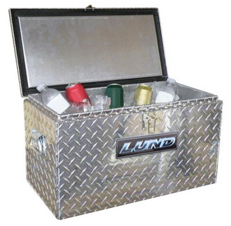 Lund/Tradesman 4400 12-Gallon Aluminum Cooler, Silver