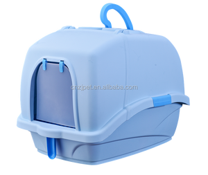 The new plasticTotally enclosed cat litter box china pet suppliers pet training products