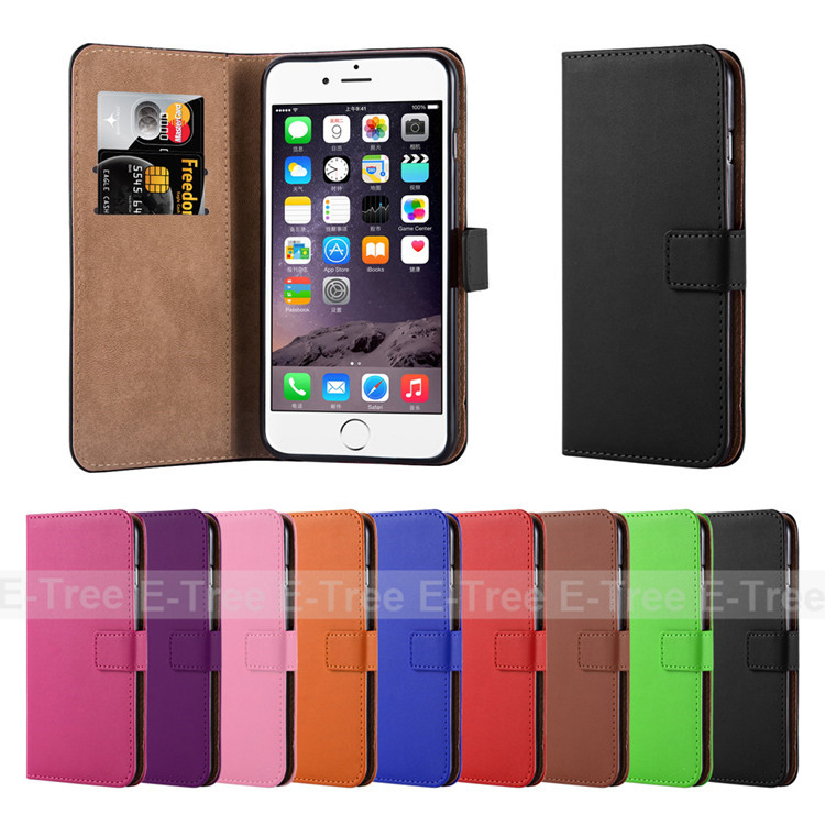 2016 PU Leather Cell Phone Case For Apple iphone 6s, Mobile Back Cover For iphone 6s plus