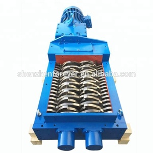Double Shaft Industrial Shredder Machine /Tyre Shredder Machine