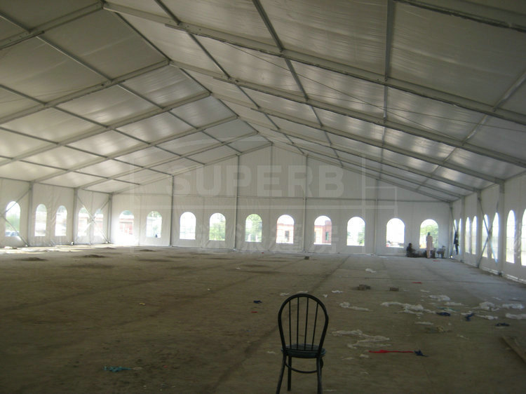 25m Clearspan Tent Luxury Clear Pvc Marquee Tent Rental