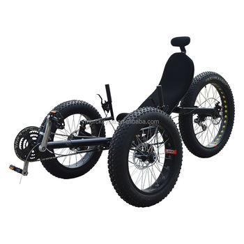 Hot Ing New Design Zzmerck 500w Three Wheel Electric Fat Tire Rebent Trike Beach