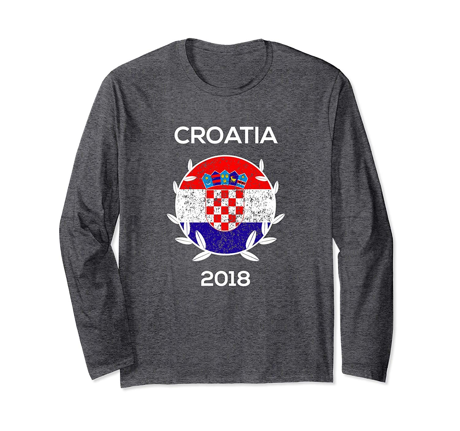 e03cccec64b 2018 19 New Croatia Modric Away Men s Soccer Jersey. Get Quotations · Croatia  Soccer Long Sleeve Shirt 2018 Cup Fan Gear