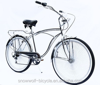 Chrome Beach Cruiser Bike Sospensione Beach Cruiser Bicicletta Da Uomo Buy Chrome Beach Cruiser Bikecruiser Bicicletta Da Uomobeach Cruiser