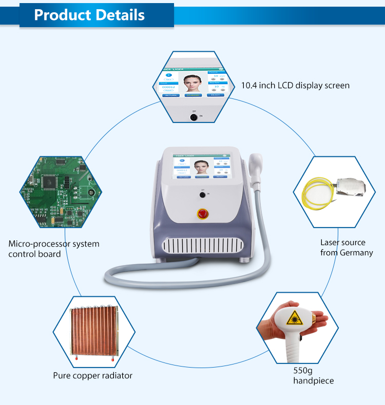 Multi Function Beauty Machine Best 808nm Diode Laser Hair Removal Equipment